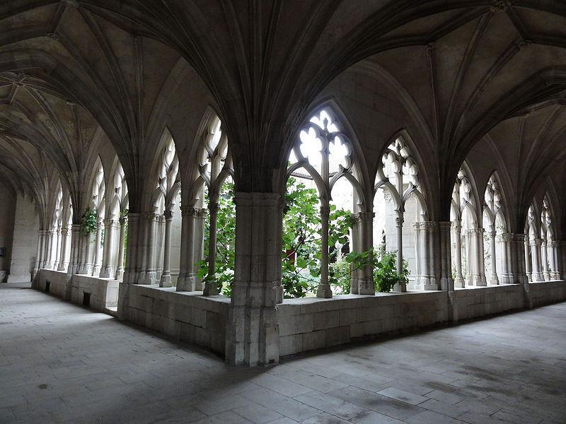 Cloître de la collégiale Saint-Gengoult de Toul