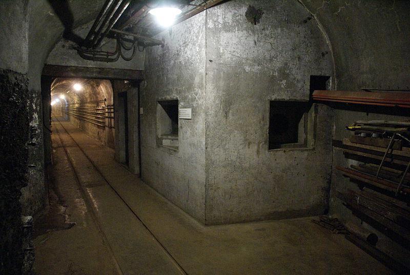 Blockhaus de défense des galeries de l'ouvrage de Fermont (ligne Maginot)