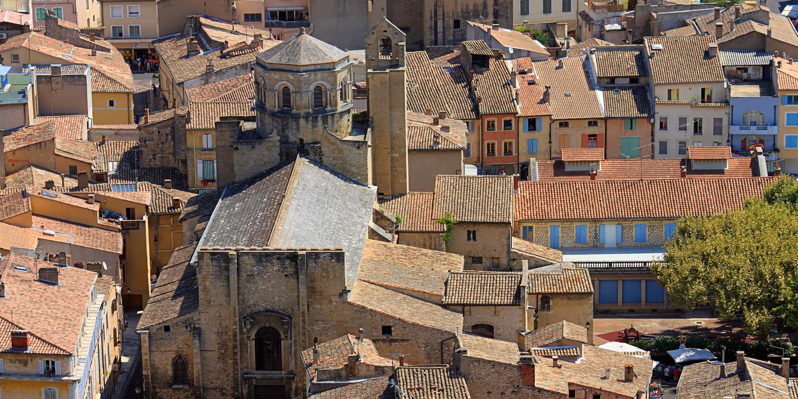 Les toits de Cavaillon