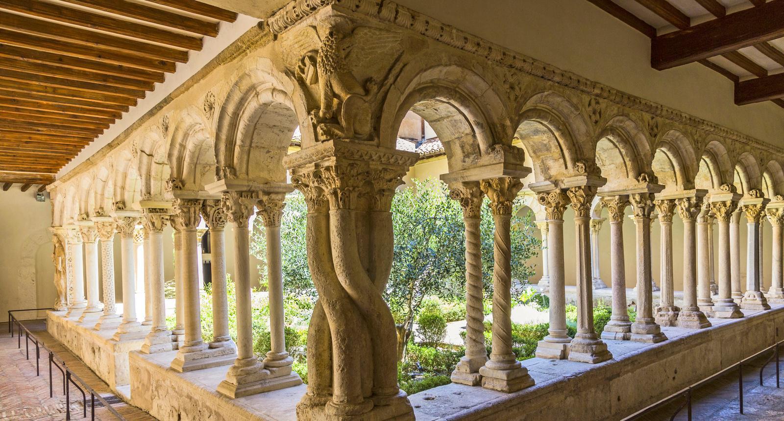 Cathédrale Saint-Sauveur d'Aix-en-Provence, le cloître