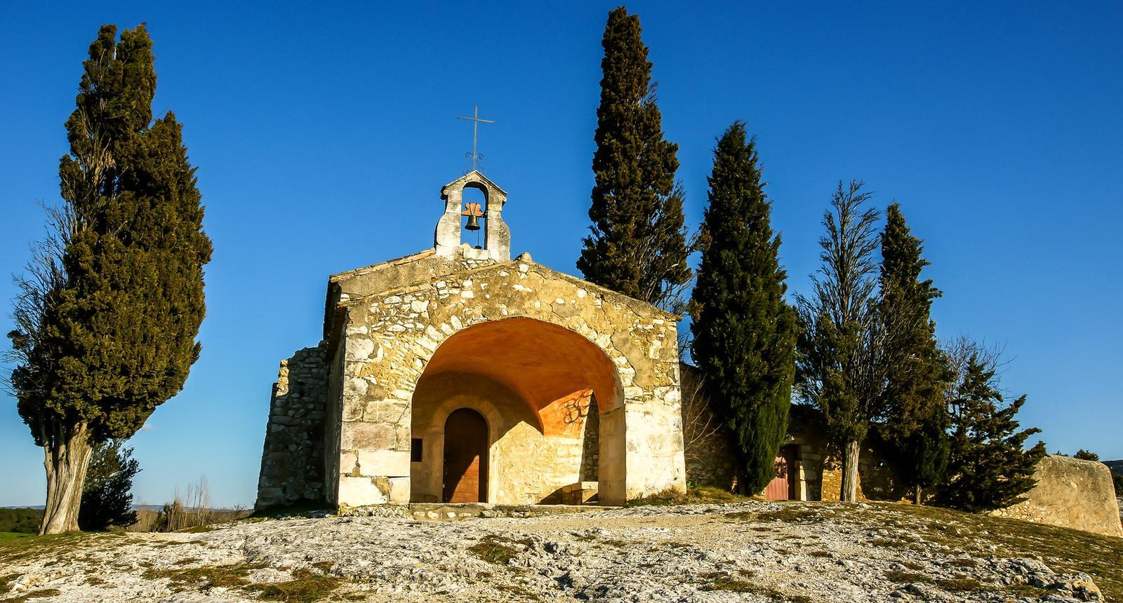 La Chapelle Saint-Sixte à Eygalières