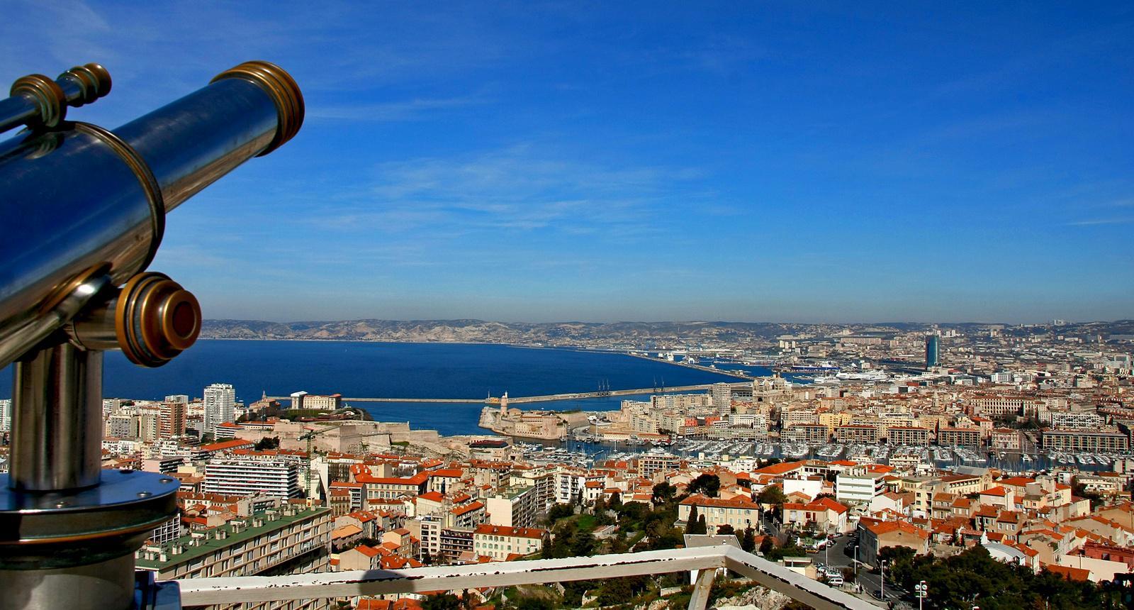La baie de Marseille