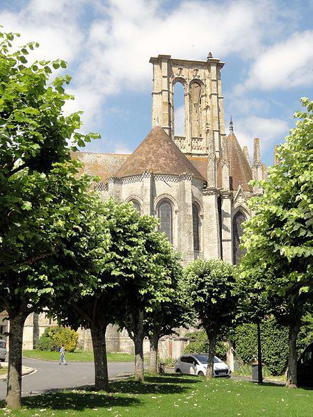 Larchant (77), basilique Saint-Mathurin