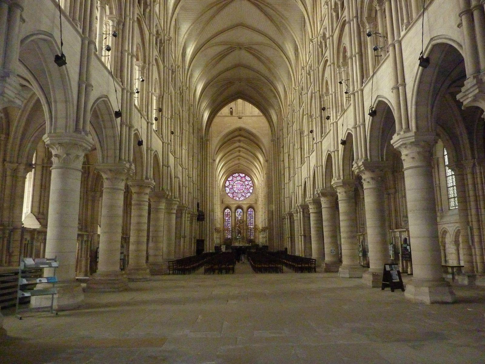 La nef de la Cathédrale Notre-Dame_Laon
