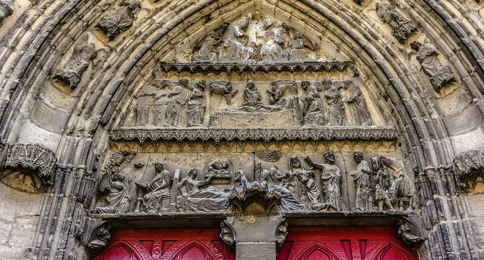Meaux, Cathedrale Saint - Etienne