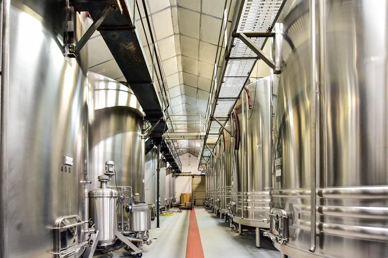 Chai de vinification du Clos Triguedina _ Lot Tourisme