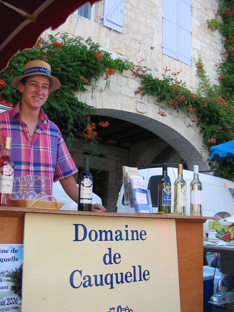 Marché Domaine de Cauquelle