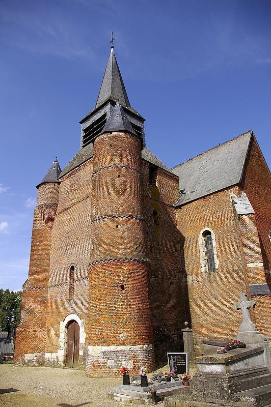 Église fortifiée de BURELles_Burelles