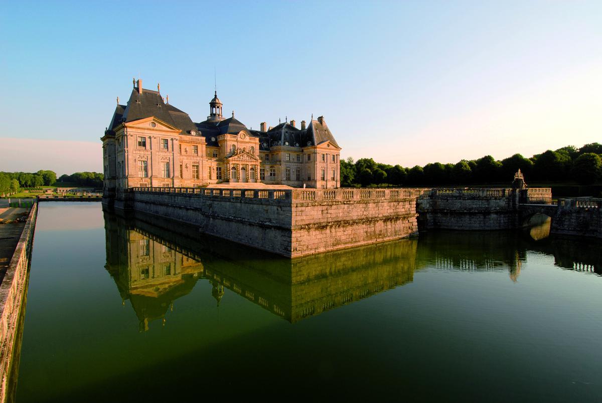 Façade nord du Château de Vaux le Vicomte