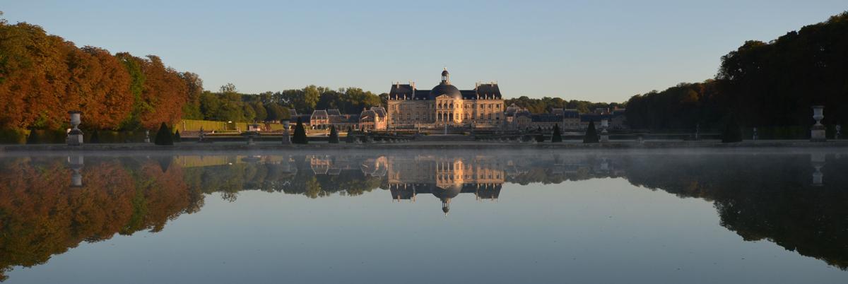 Façade sud du Château de Vaux le Vicomte