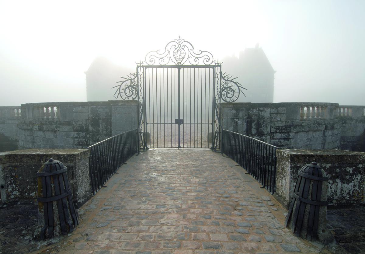 Château de Vaux le Vicomte sous la brume