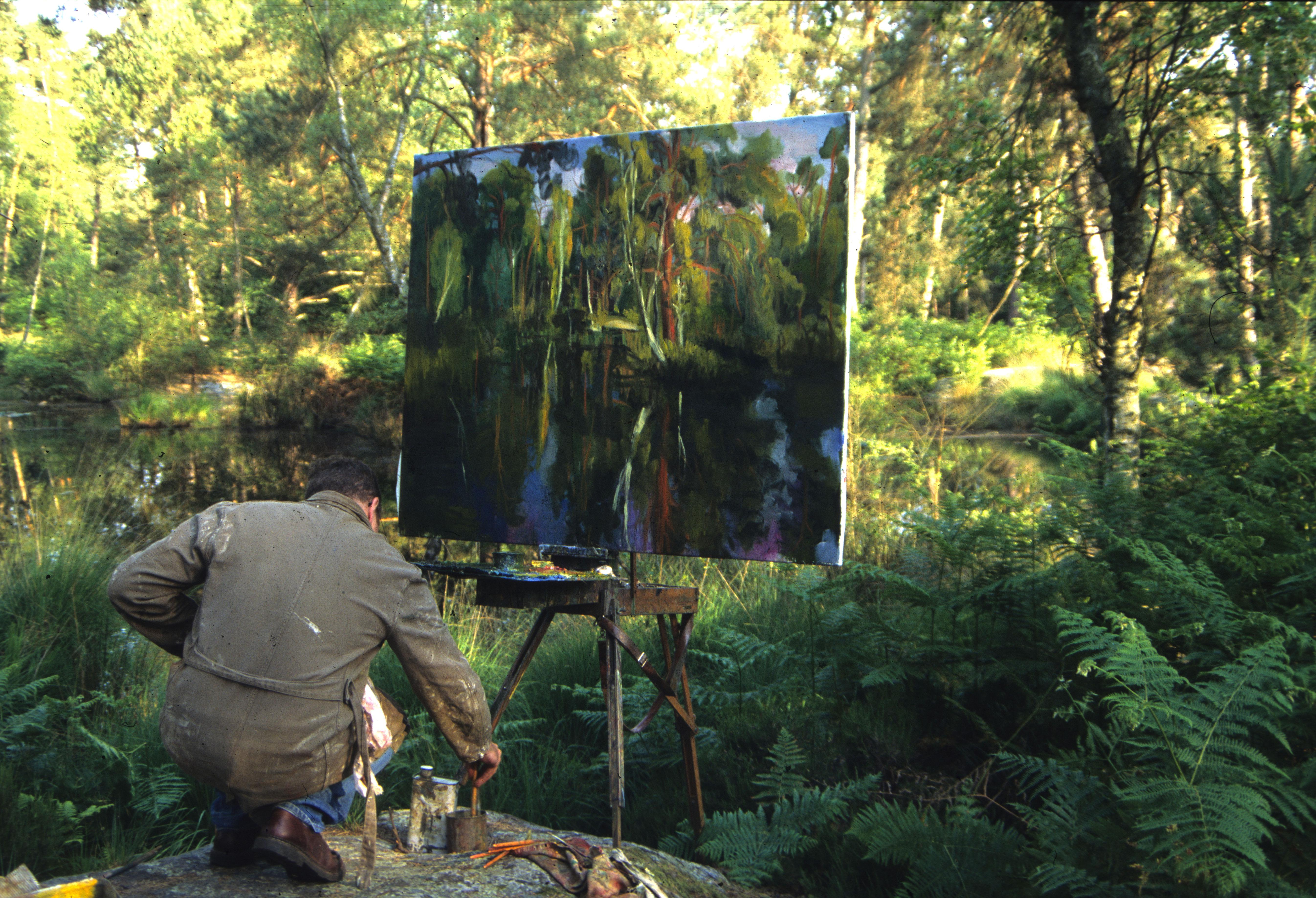 Sur les pas des peintres en forêt de Fontainebleau