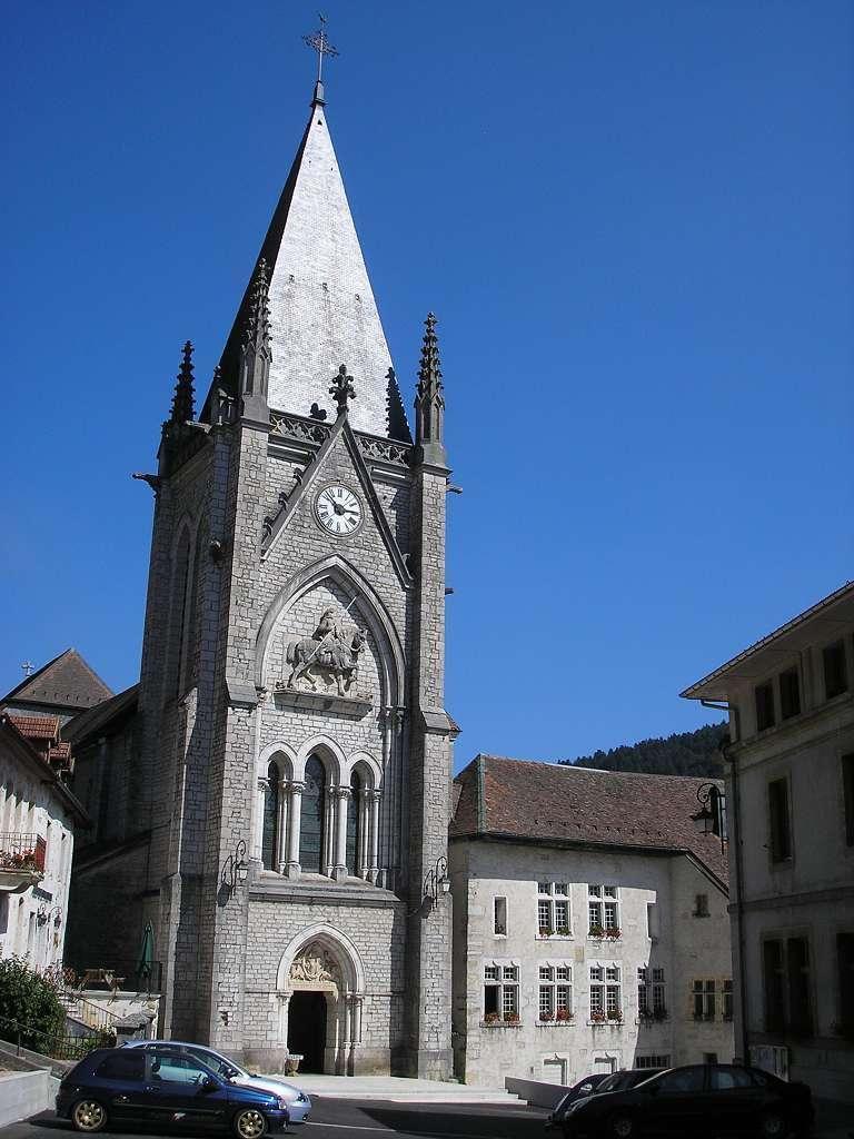 Église et abbaye_Montbenoît