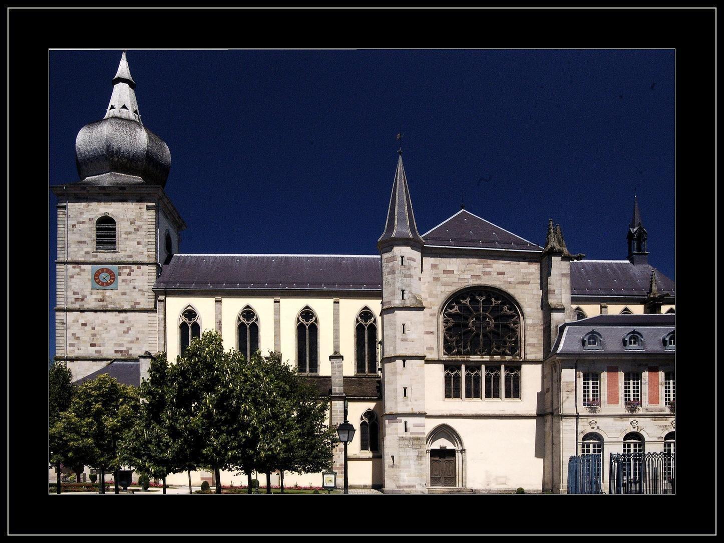 Abbatiale st pierre_Remiremont