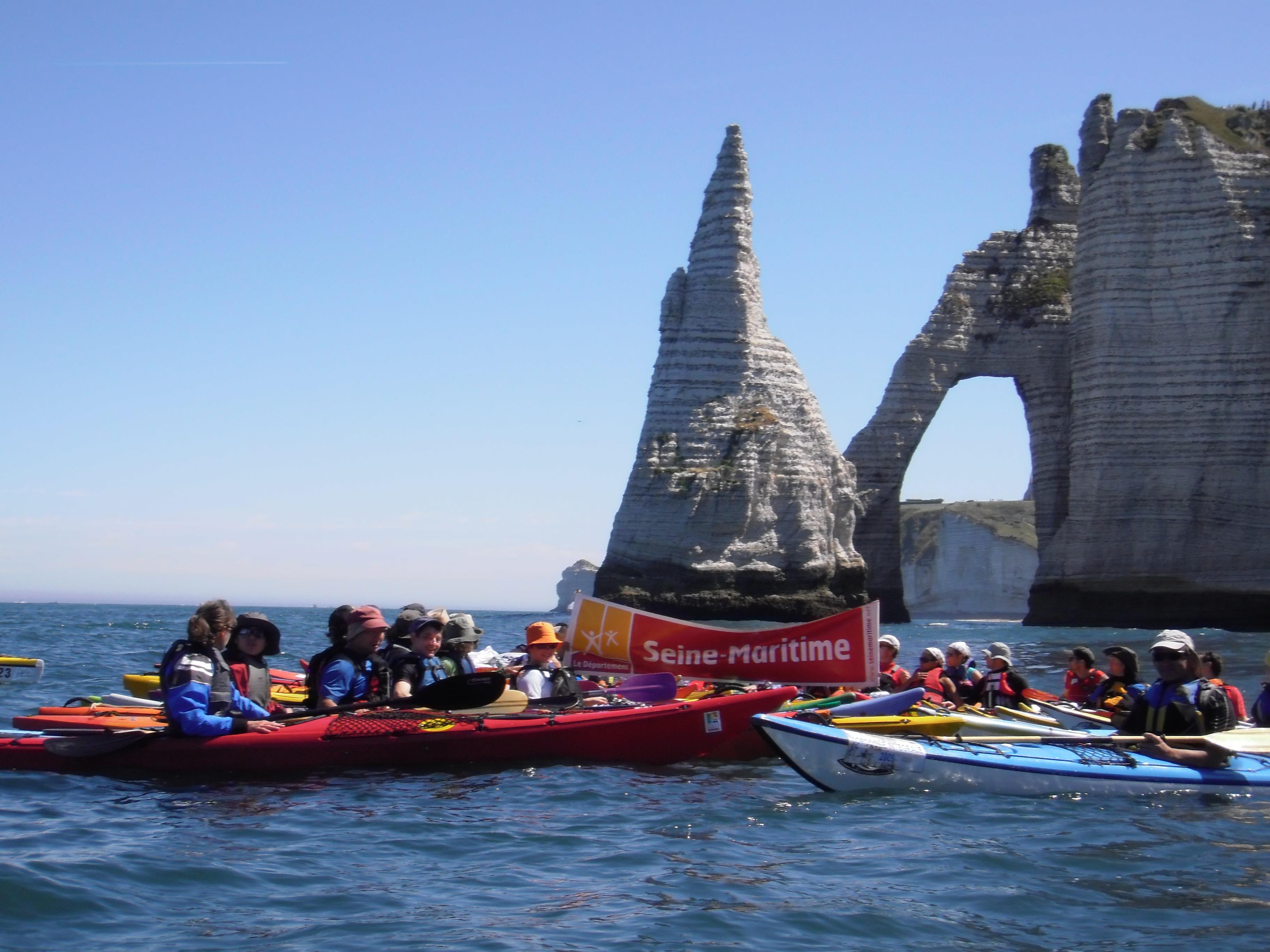 Kayak Le Havre Océan