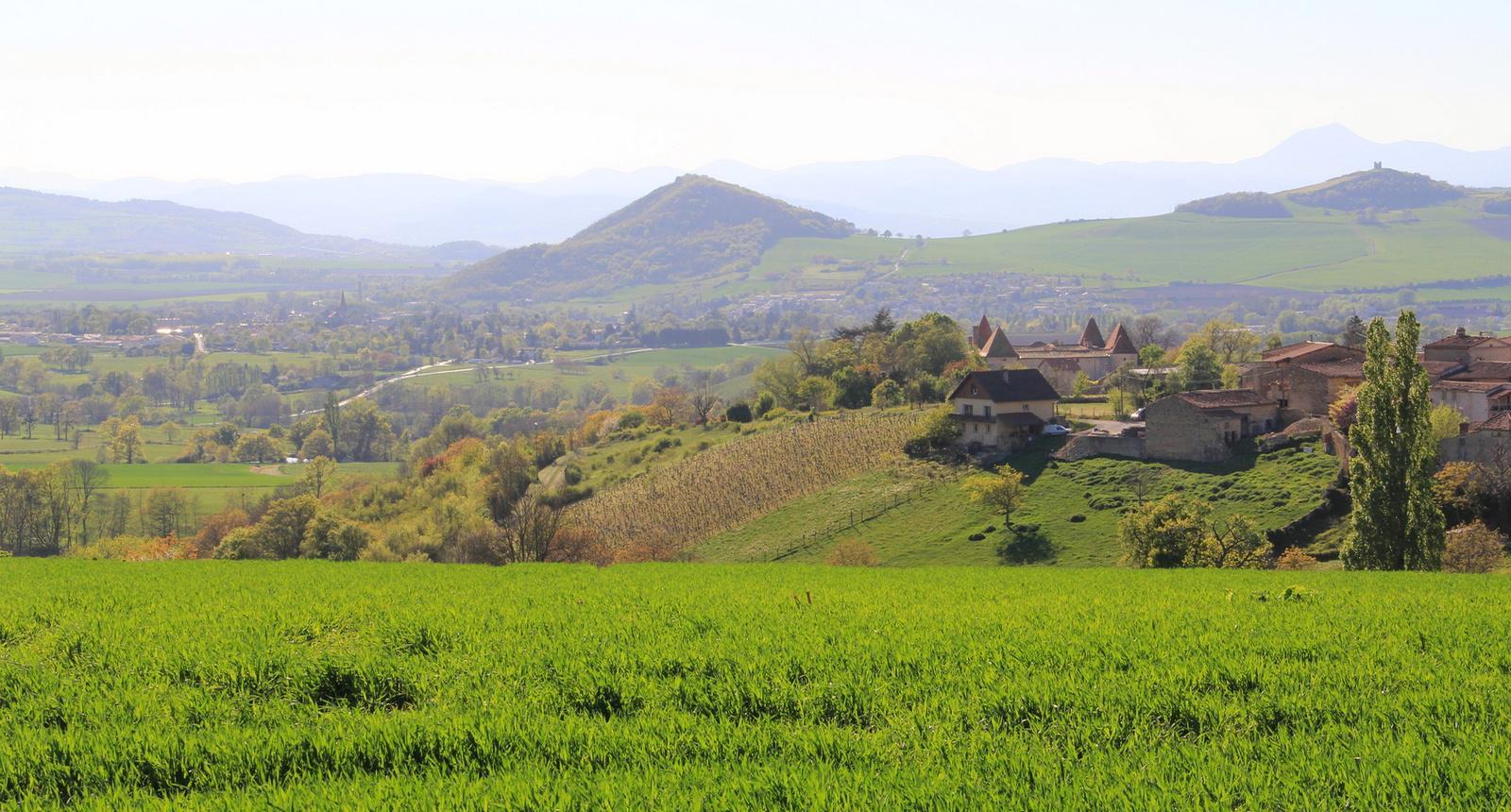 La Toscane auvergnate, Égliseneuve-près-Billom