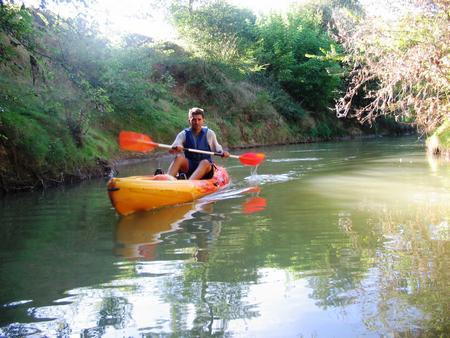 canoe solo base PUYMAURIN