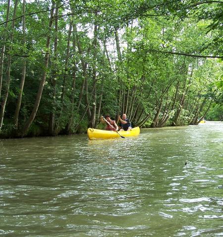 canoe sur la Save base PYUMAURIN