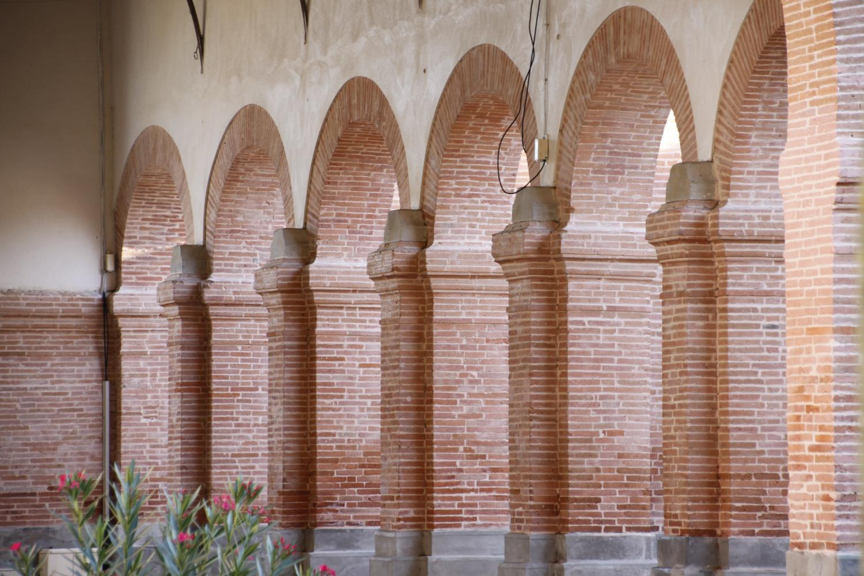 Halle de Launac - piliers TIS