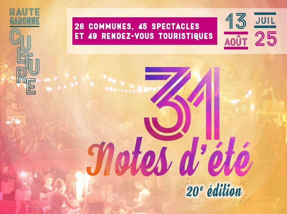 Image : Festival 31 Notes D'ete