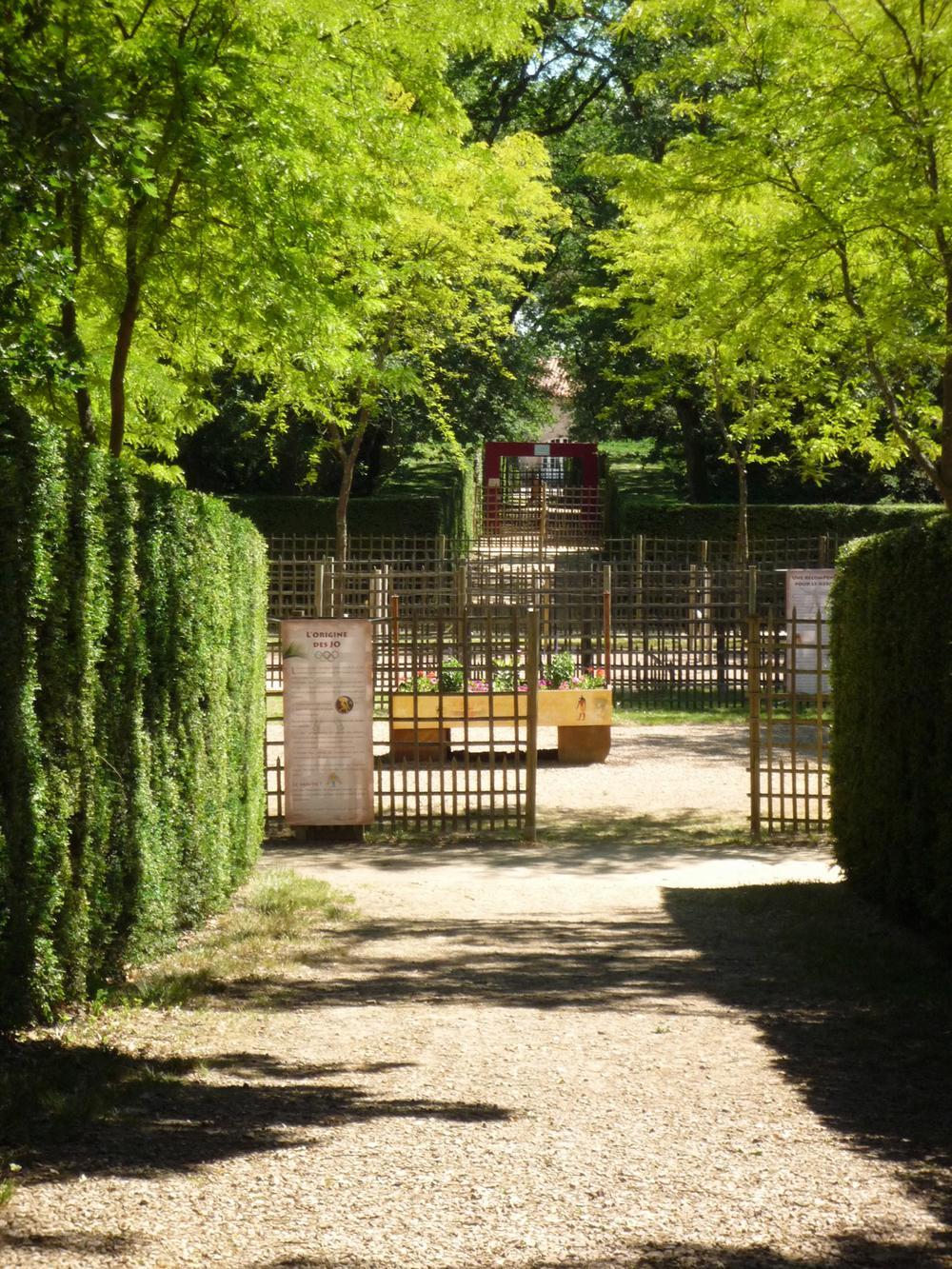 labyrinthe chateau MERVILLE RN