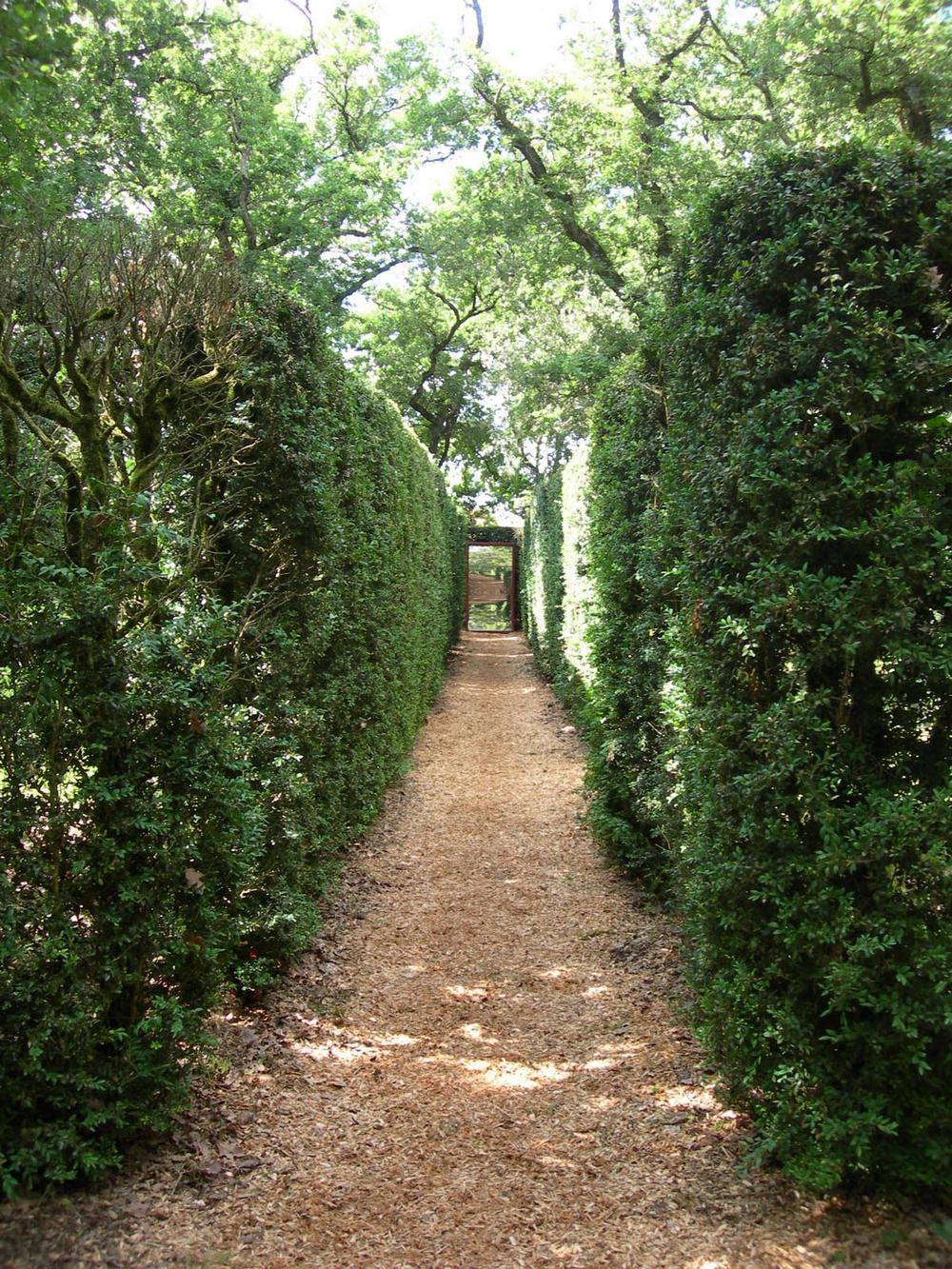 labyrinthe juin chateau MERVILLE RN