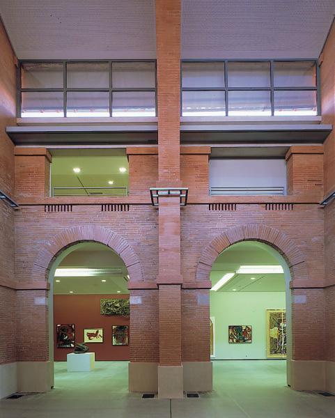 2 salles d'expo © Les Abattoirs