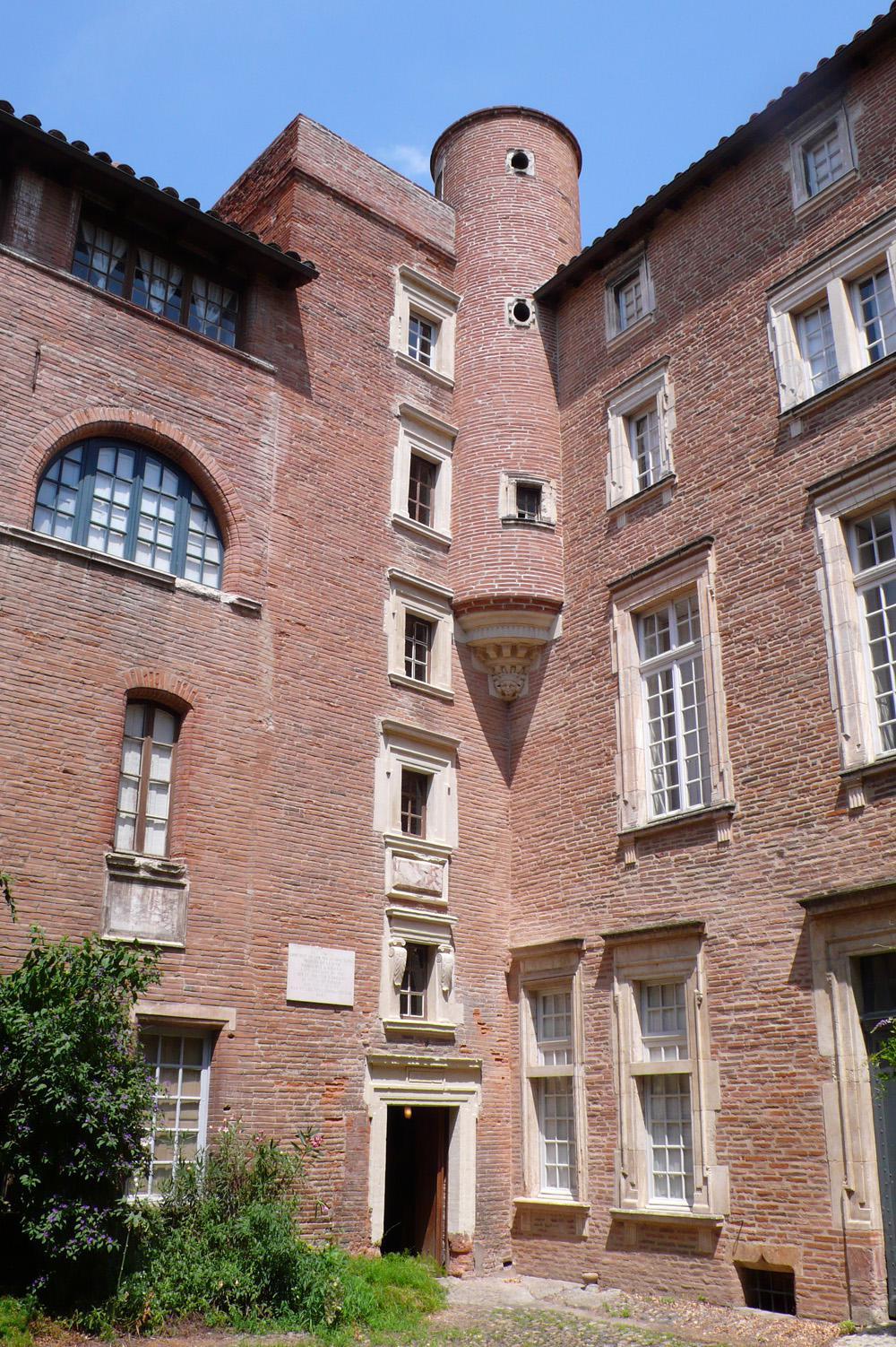 _Cour de l'hôtel Dumay(c) musée du Vieux-Toulouse, cliché J