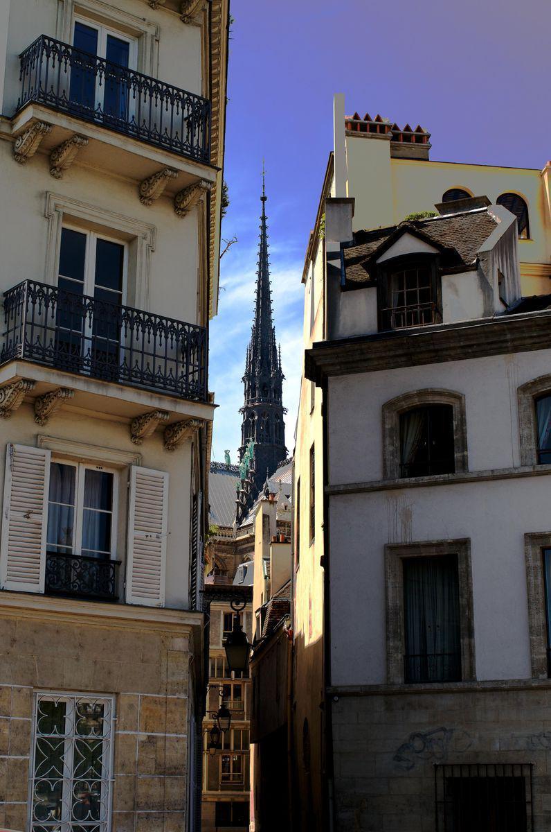 Notre Dame Ile Saint-Louis_Paris