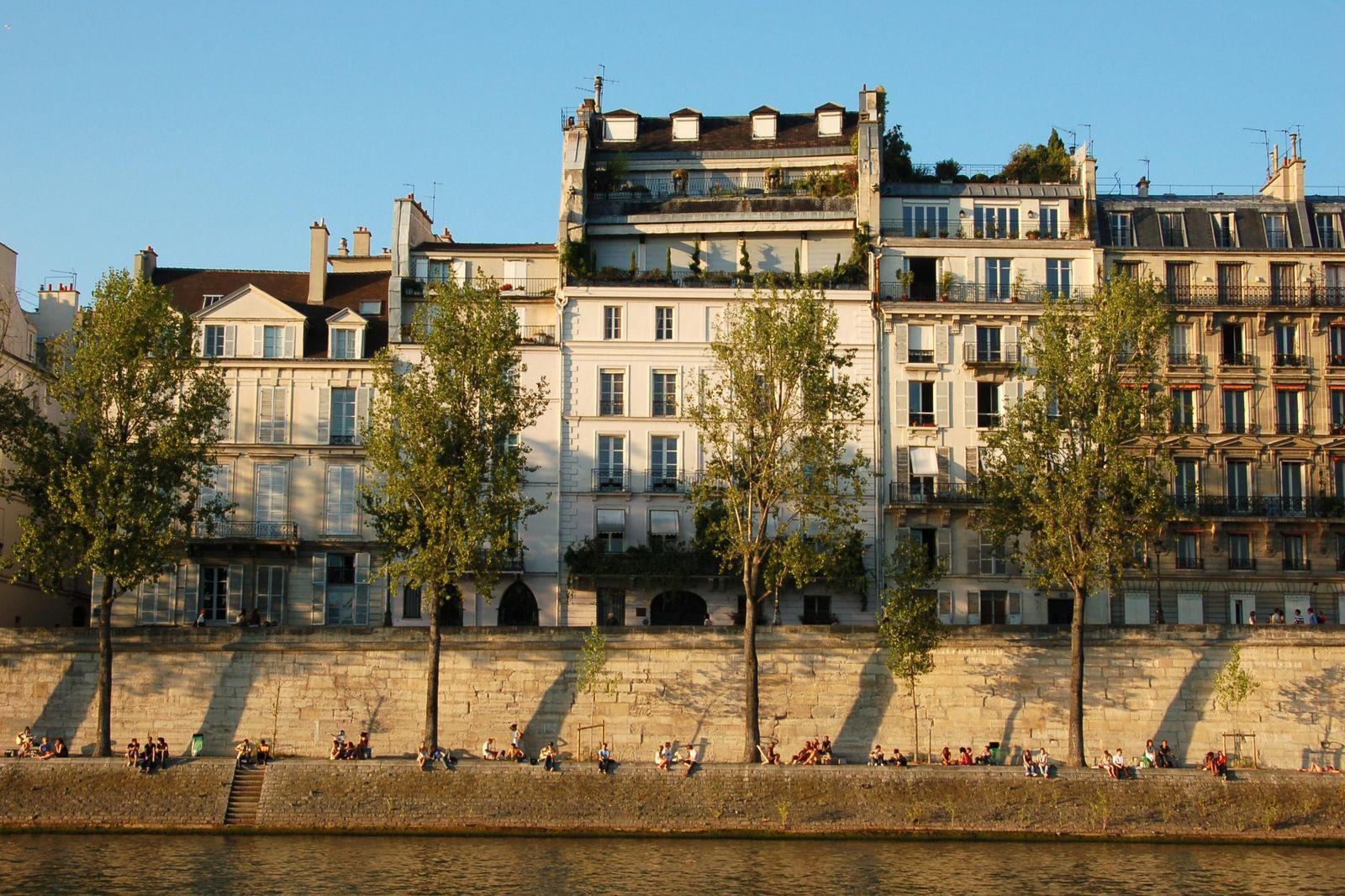 Ile Saint Louis_Paris