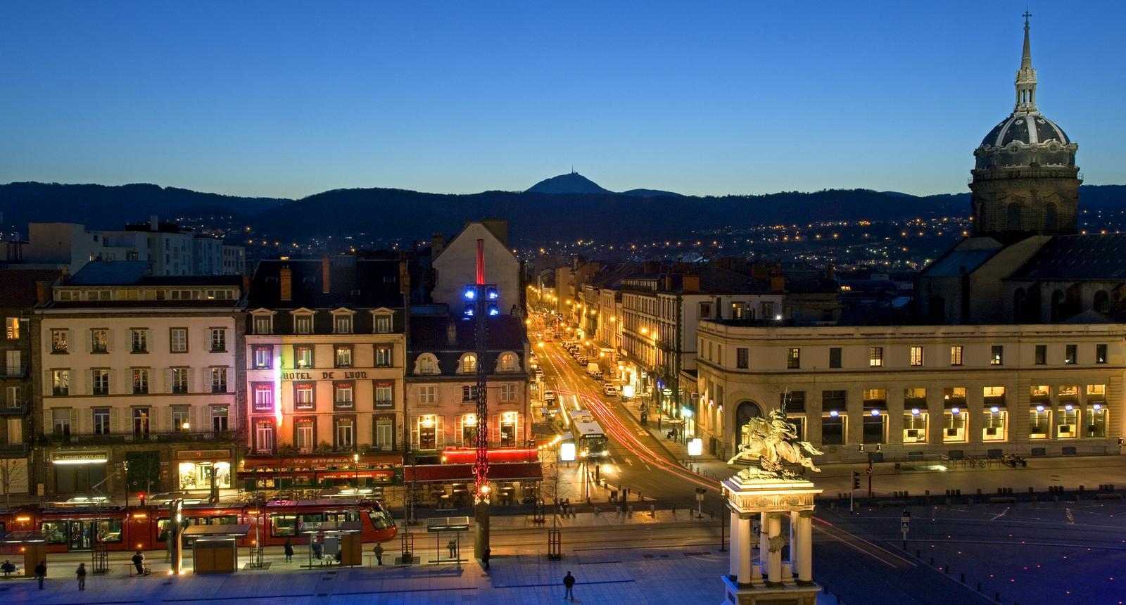 Place de Jaude, Clermont-Ferrand