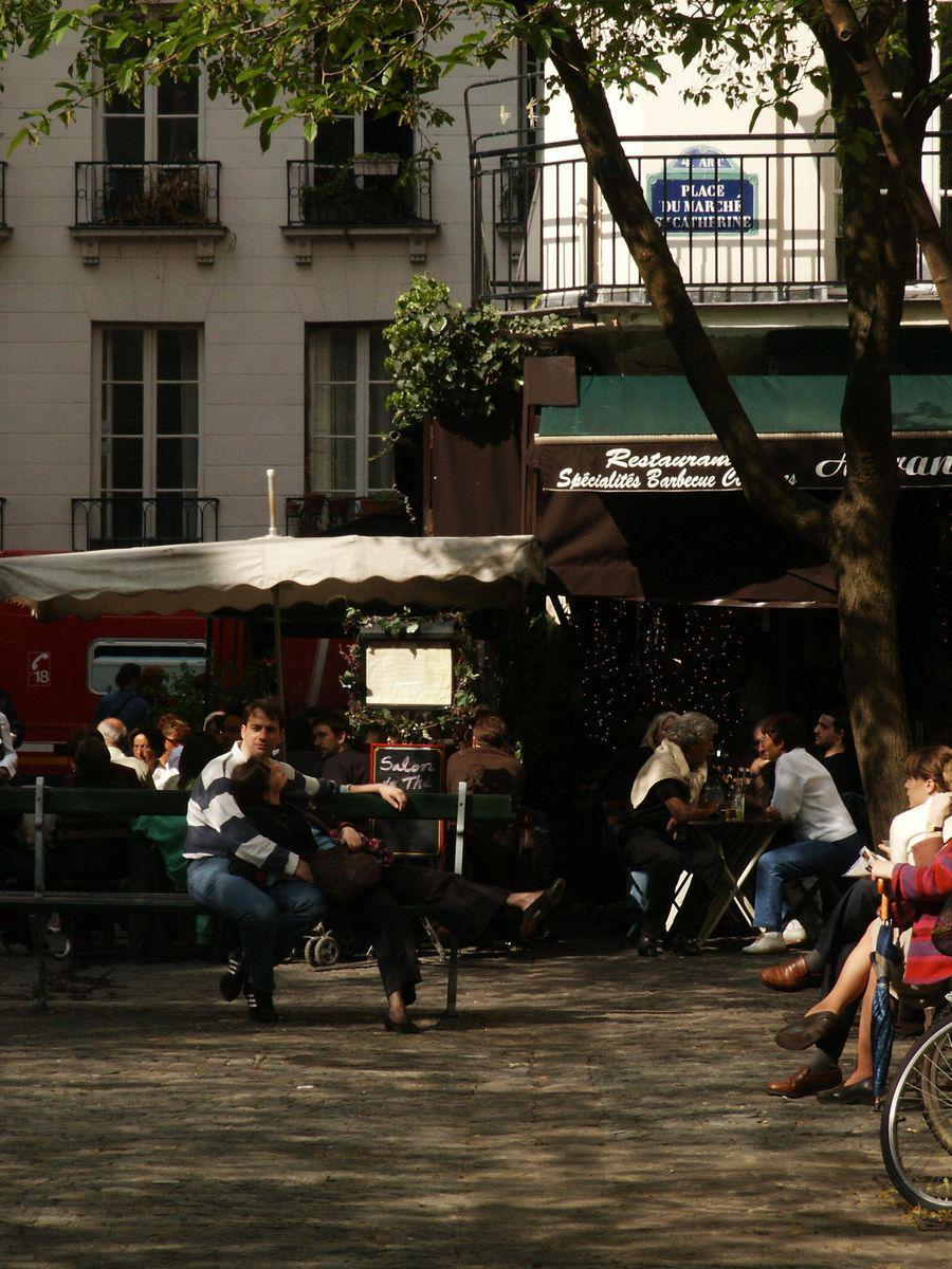 Place du Marché-Ste-Catherine_Paris