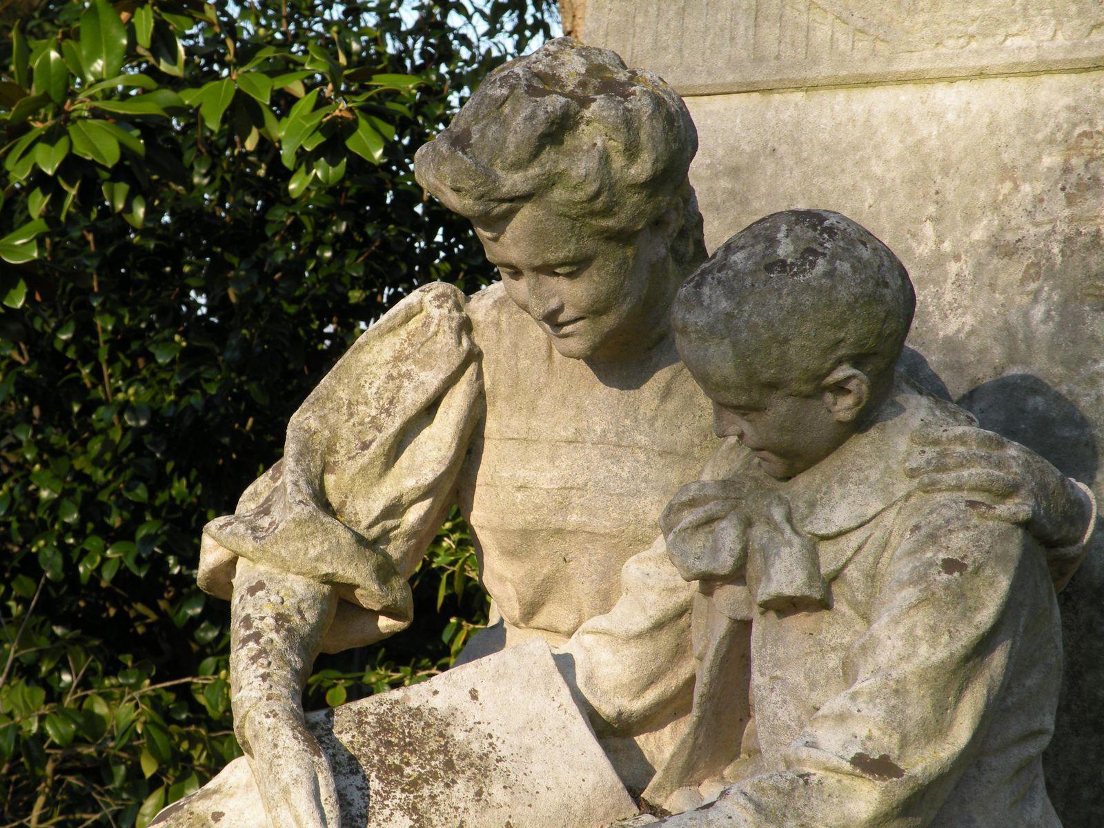 Jardin des Plantes (statue Jules Verne)_Nantes