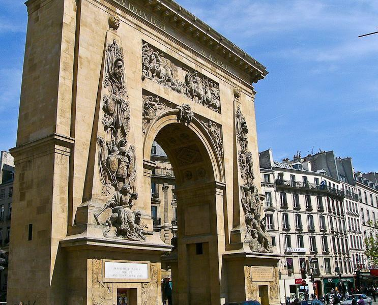 Porte Saint-Denis_Paris