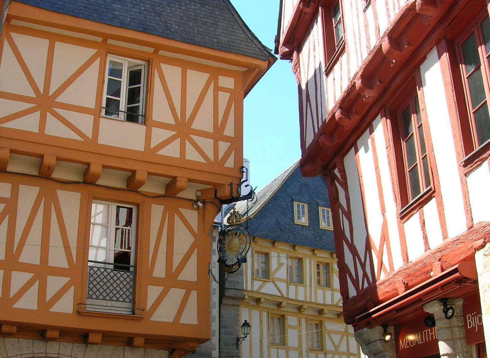 La vieille ville de Vannes_Vannes