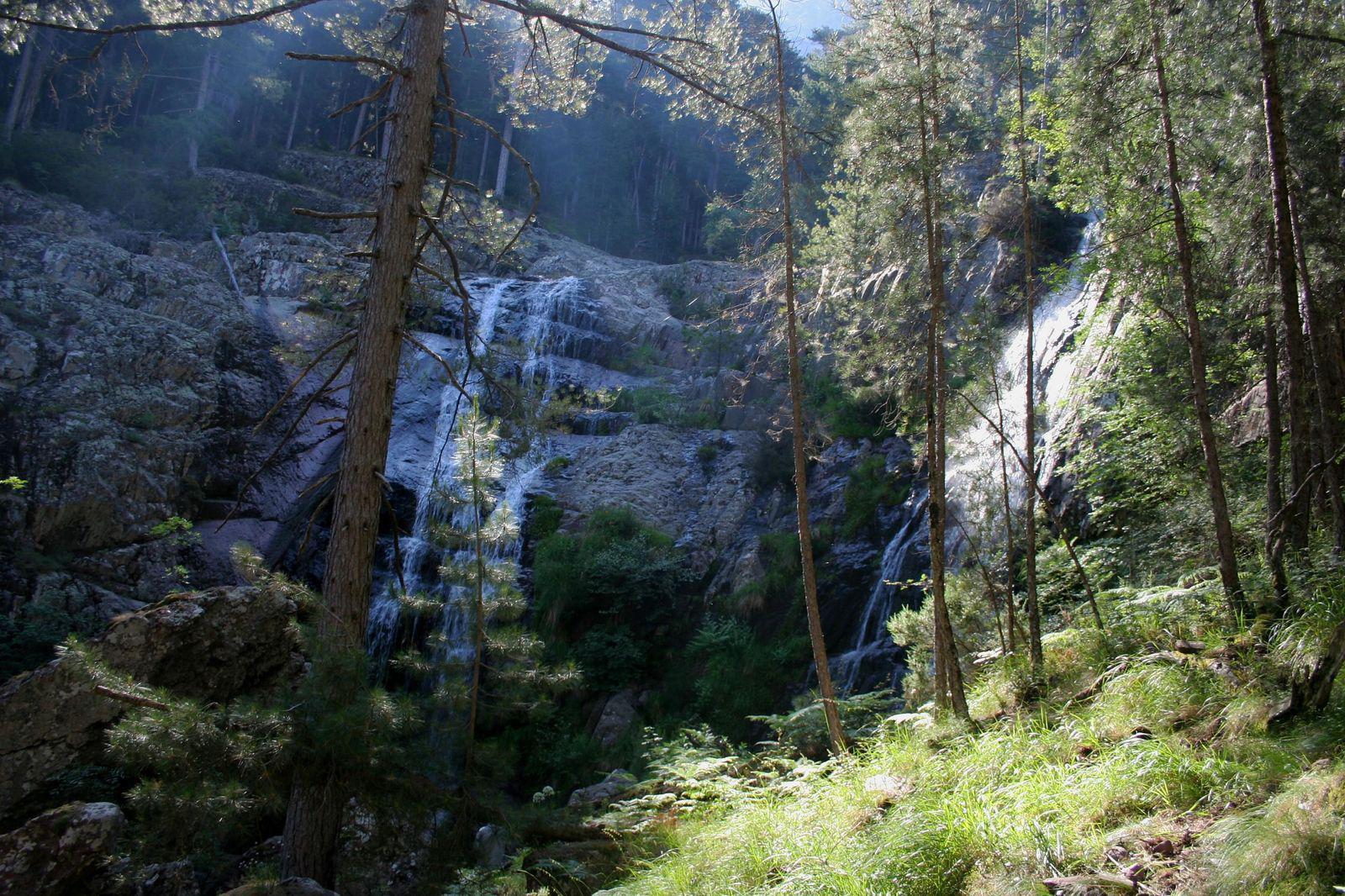 Cascades d'Aïtone