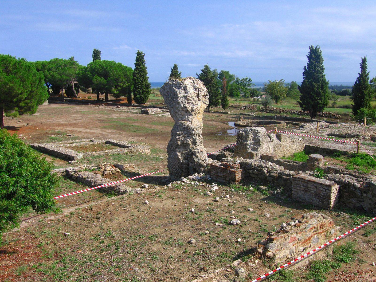 Fouilles de la cité antique d'Aléria_Aléria