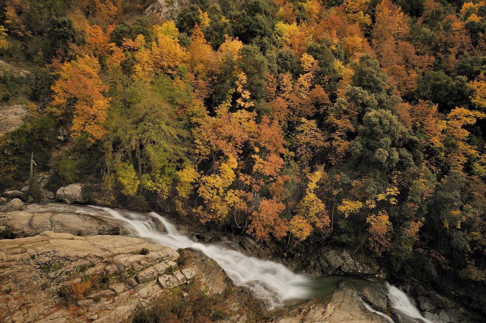 Cascade du Voile de la Mariée_Bocognano