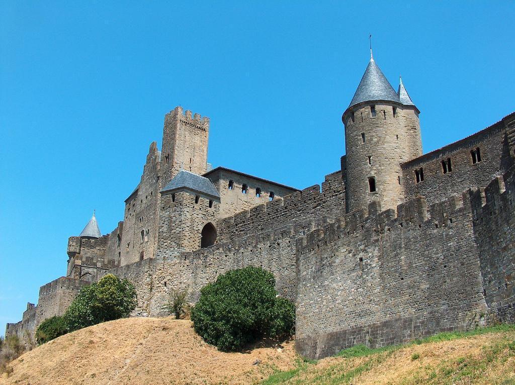 Château et remparts_Carcassonne