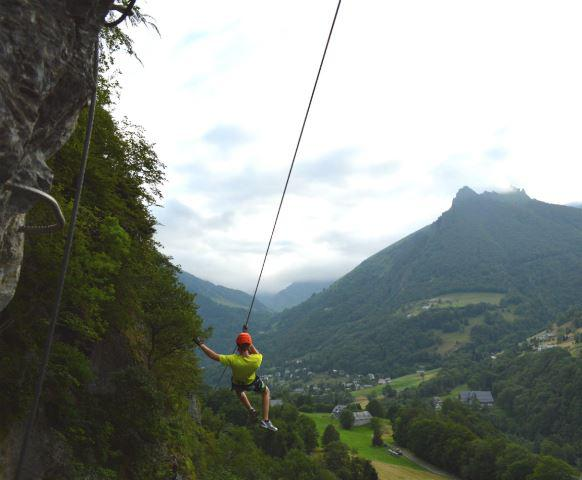 AlbertFita-Cauterets-via ferrata tyro 1