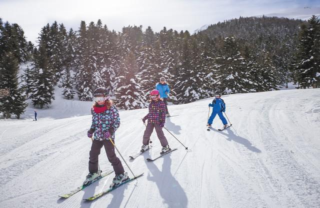 Val Louron - ski enfant