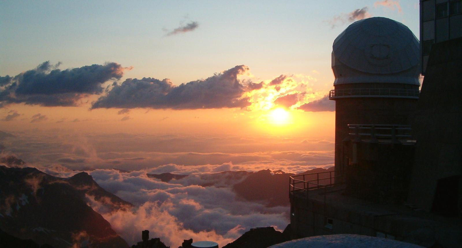 Soirée au Pic du Midi