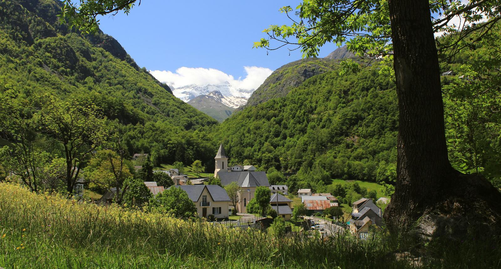 Le village de Gèdre