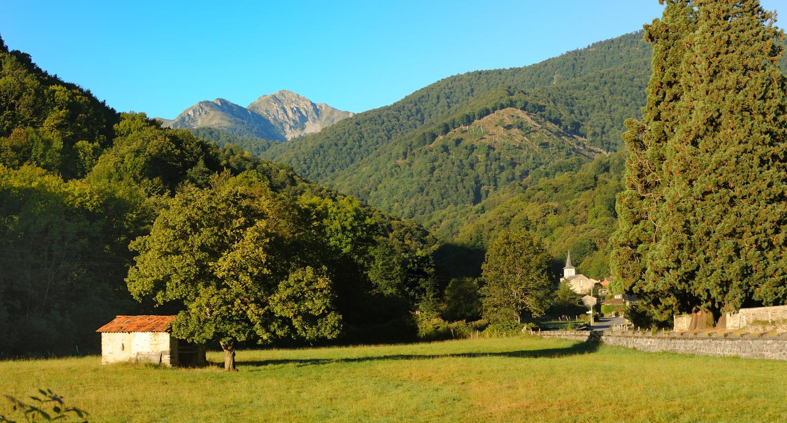 Le village de Ferrère