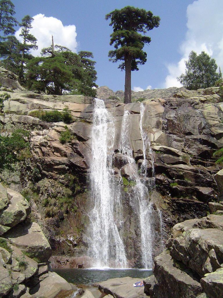 Bergeries et cascade de Radule_Albertacce
