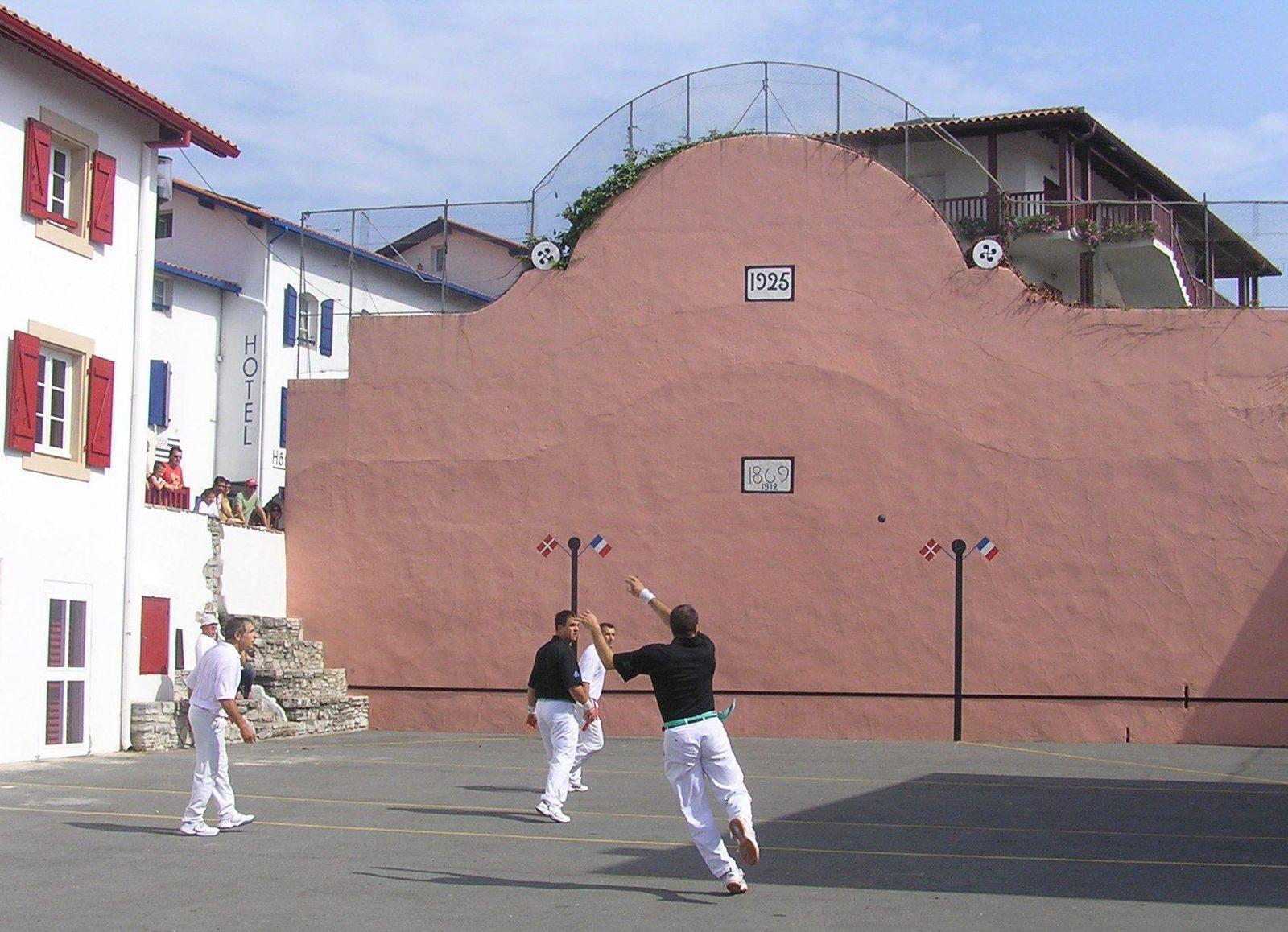 Partie de pelote basque_Bidart
