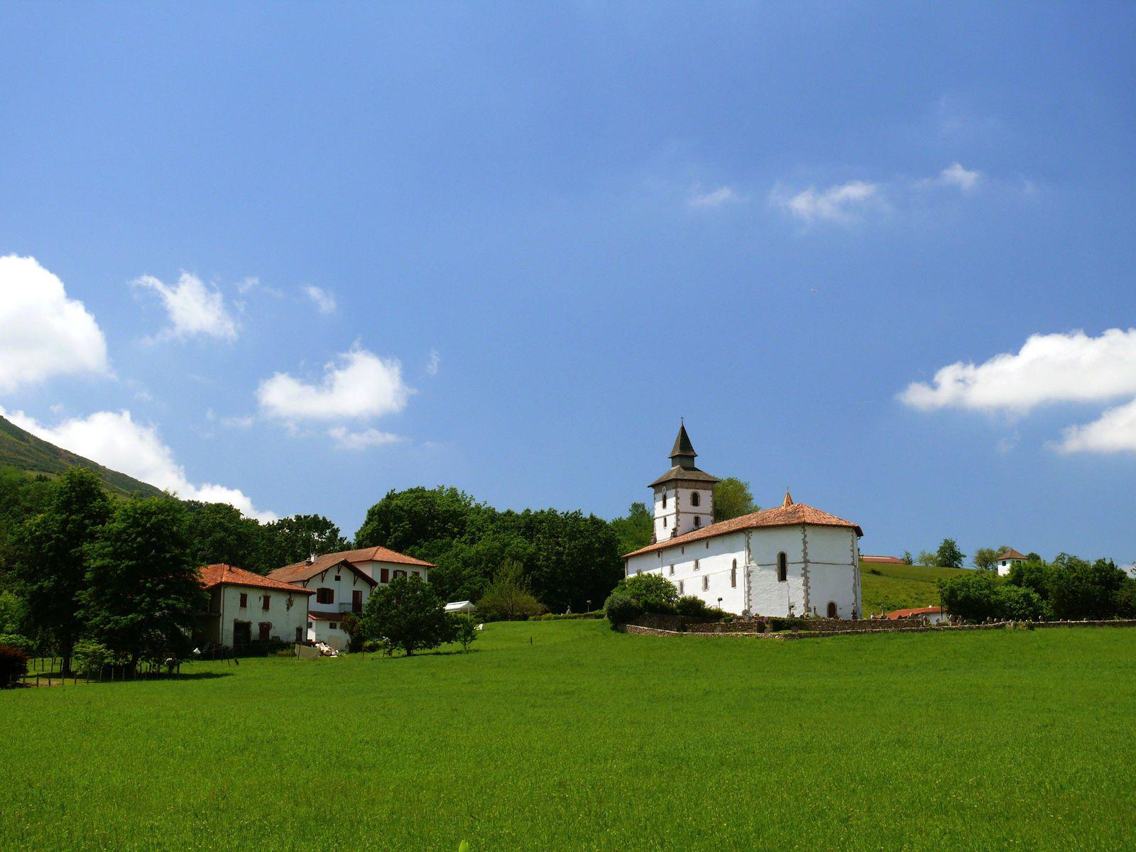 Eglise St-Fructueux_Itxassou