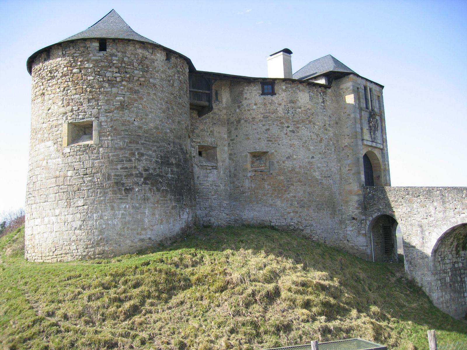 Château fort de Mauléon_Mauléon-Licharre