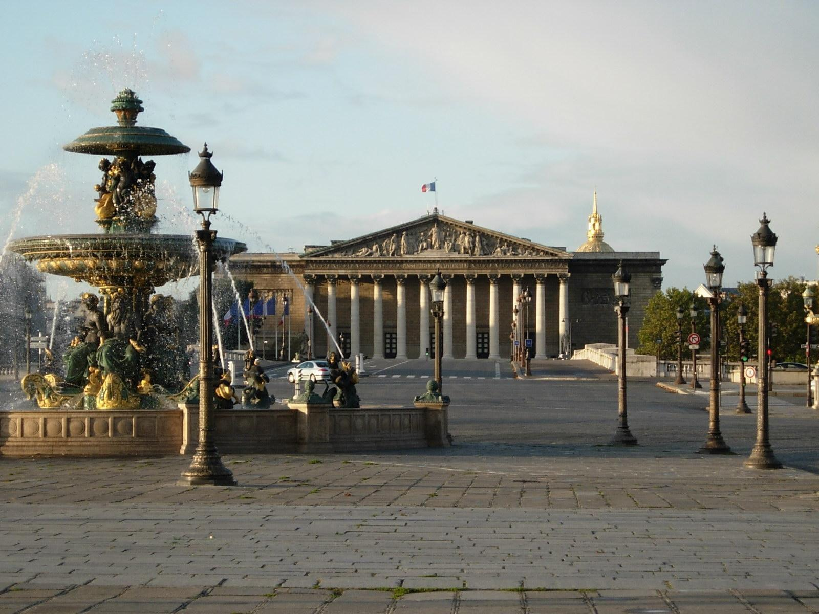 Palais Bourbon-Assemblée Nationale_Paris