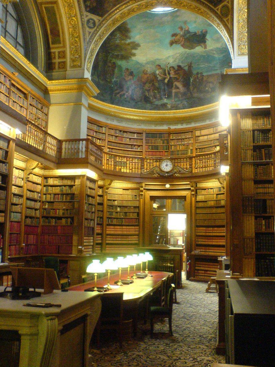 Bibliothèque de l'Assemblée Nationale, Paris